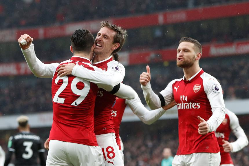 Arsenal 4-1 Crystal Palace