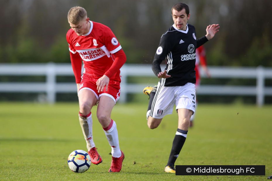 Middlesbrough v Fulham, PL2 Division 2