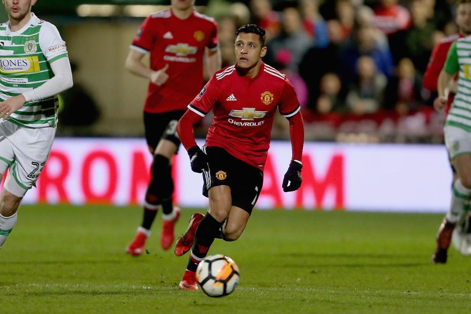 Alexis Sanchez (Yeovil v Man Utd)