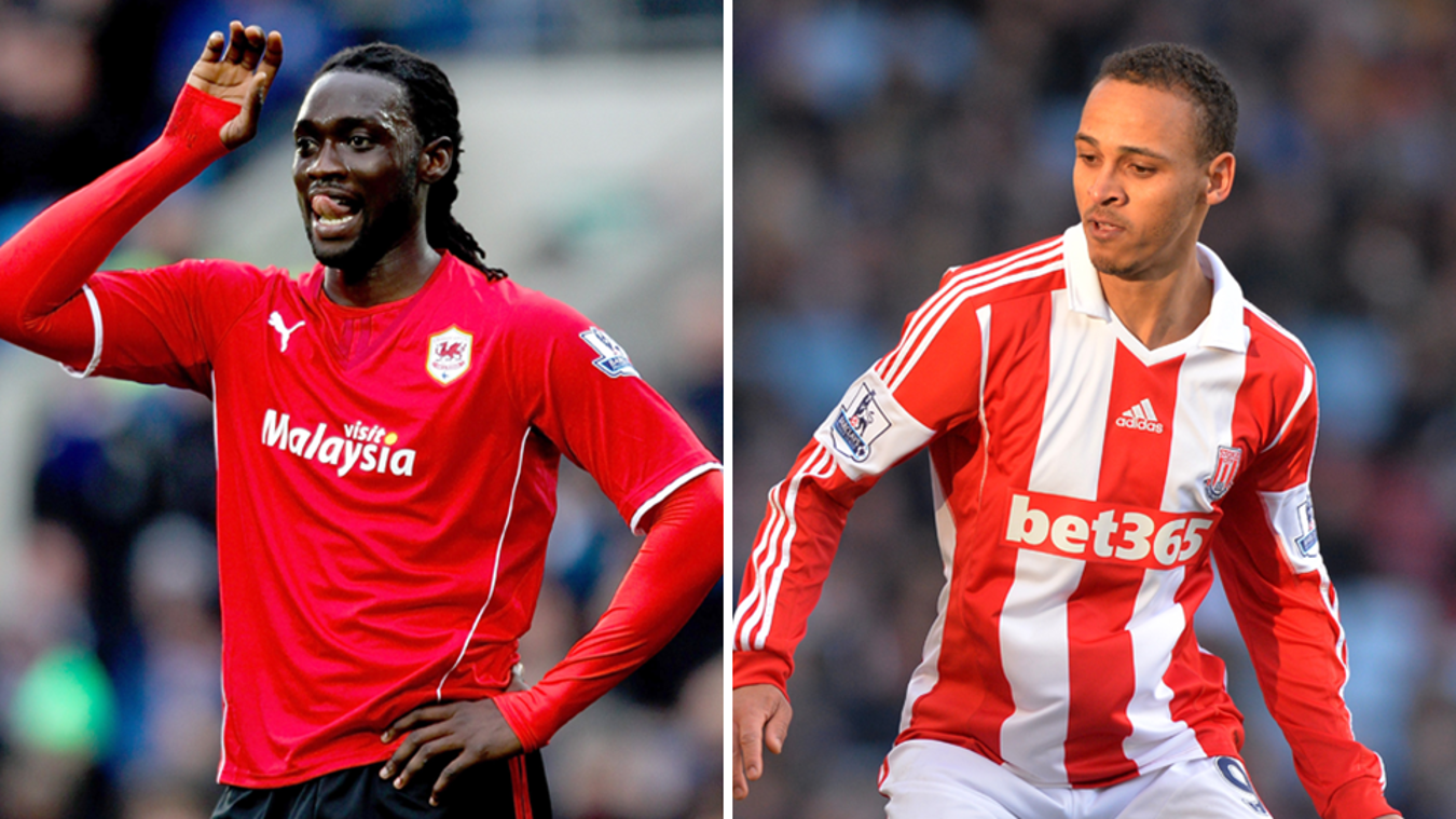 Kenwyne Jones Peter Odemwingie