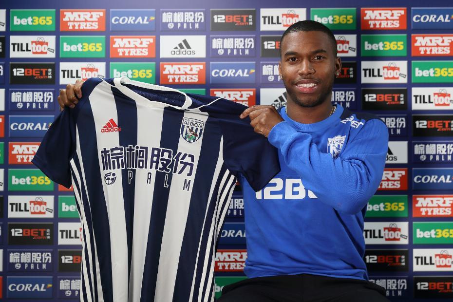 Daniel Sturridge signs for West Brom