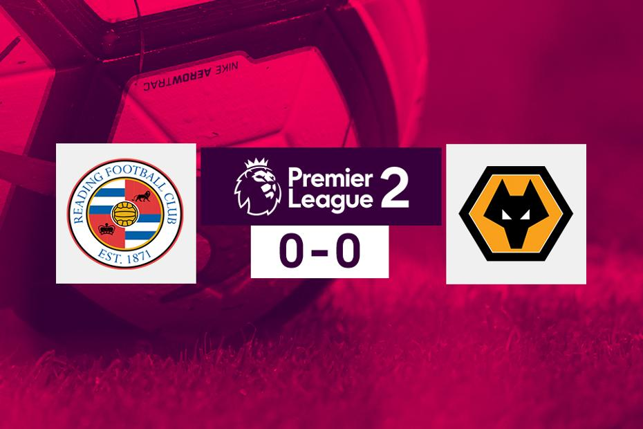 Reading v Wolves, PL2 graphic