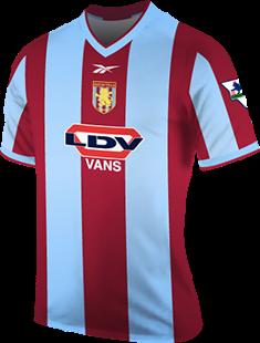 finest selection 54f4d 7d494 Aston Villa Season History   Premier League