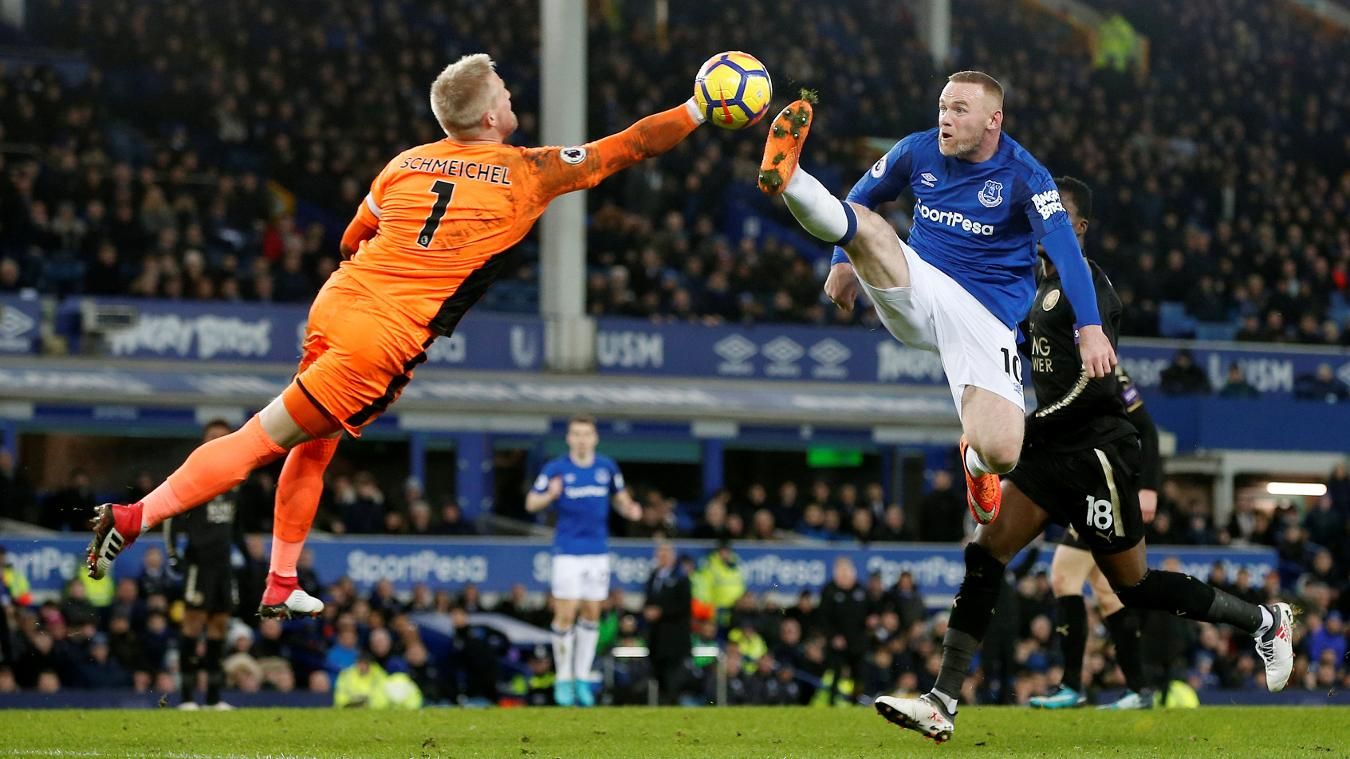 Everton 2-1 Leicester City