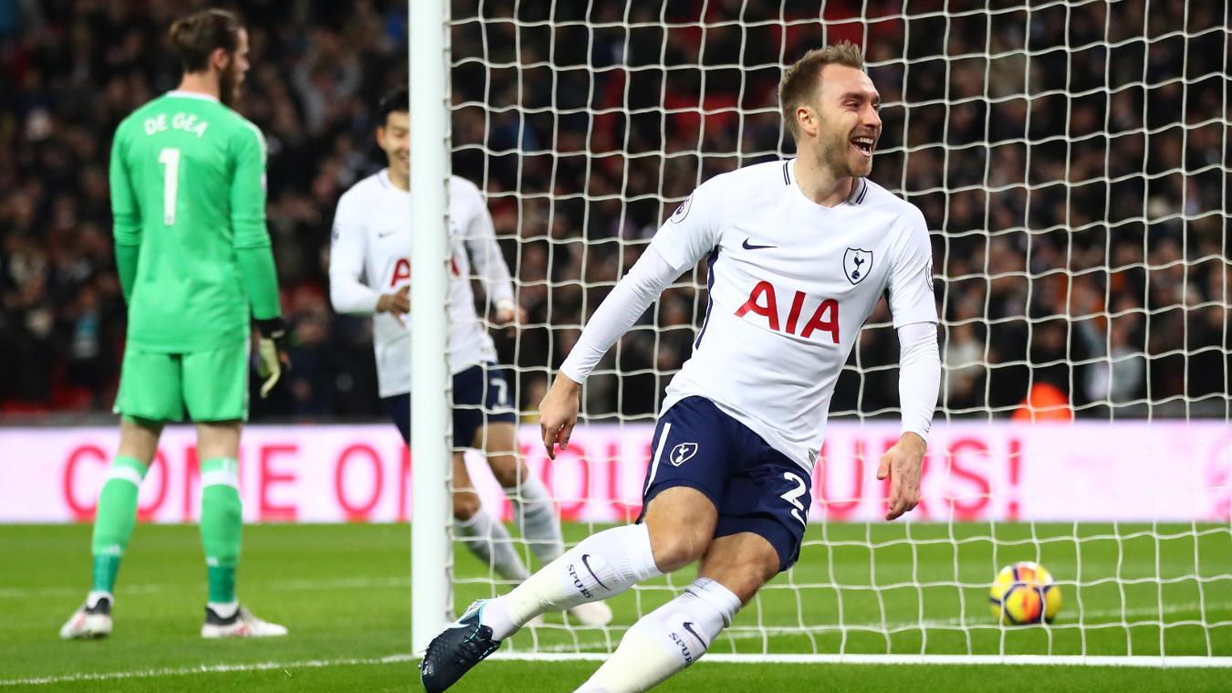 Tottenham Hotspur 2-0 Manchester United