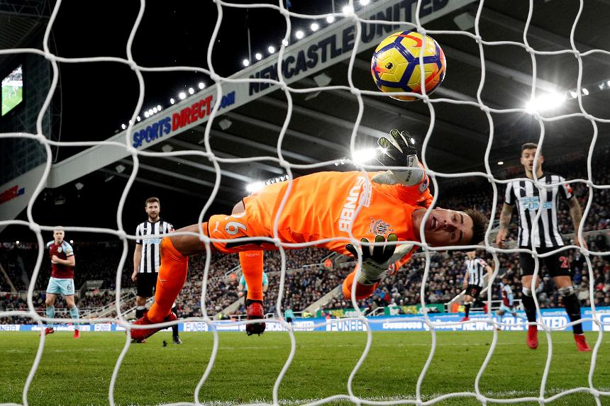 Newcastle United 1-1 Burnley
