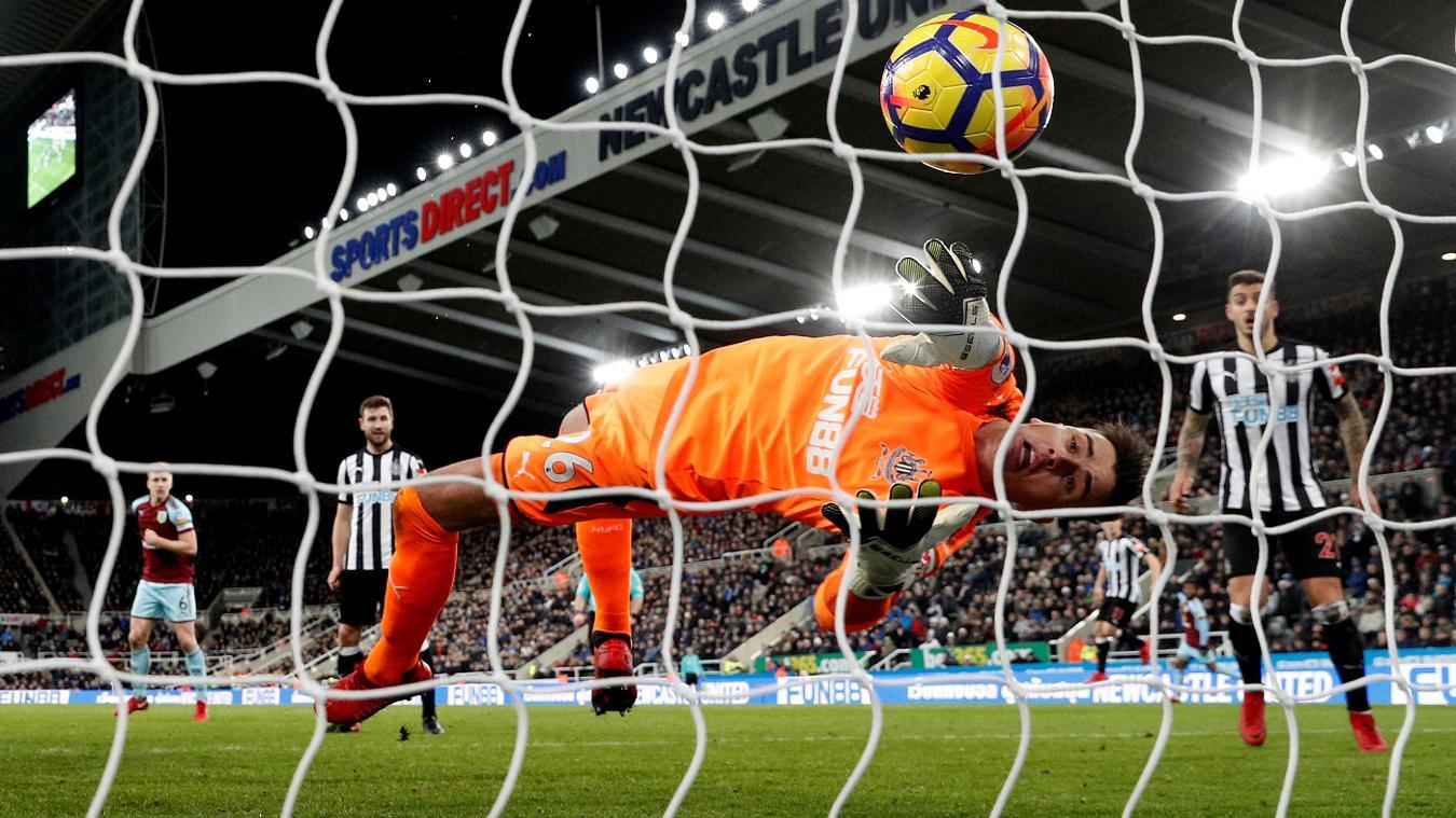 Newcastle United 1-1 Burnley