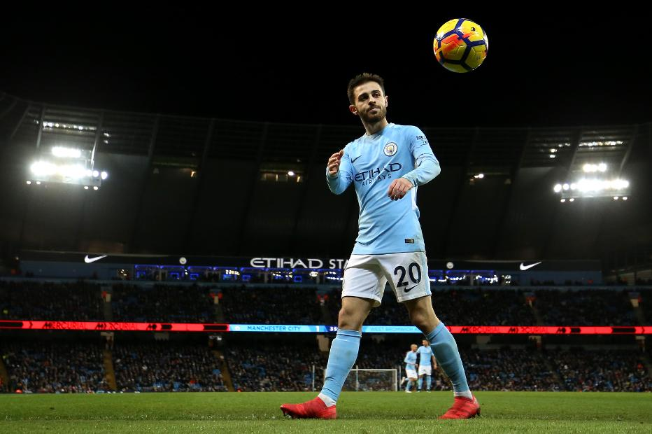 Manchester City v West Bromwich Albion - Bernardo Silva