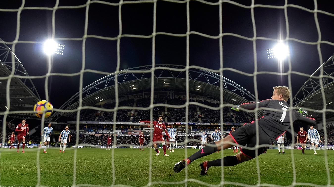 Huddersfield Town 0-3 Liverpool