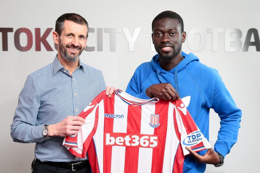 Badou Ndiaye signs for Stoke City
