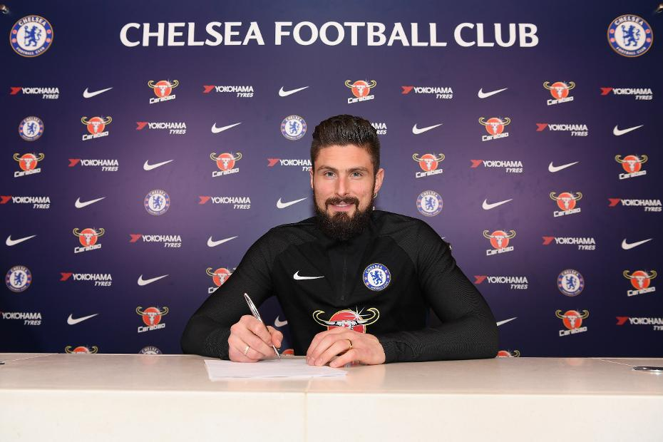 Olivier Giroud, Chelsea signing