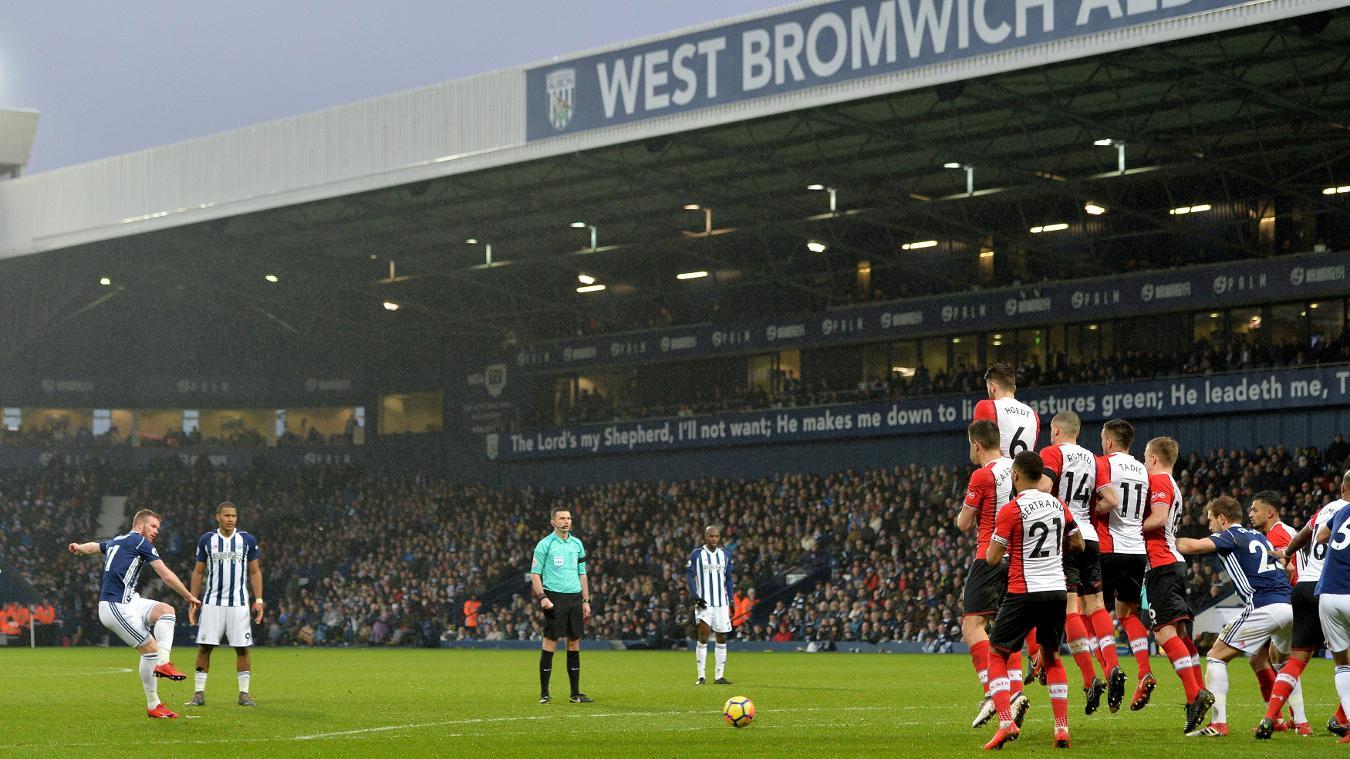 West Bromwich Albion 2-3 Southampton