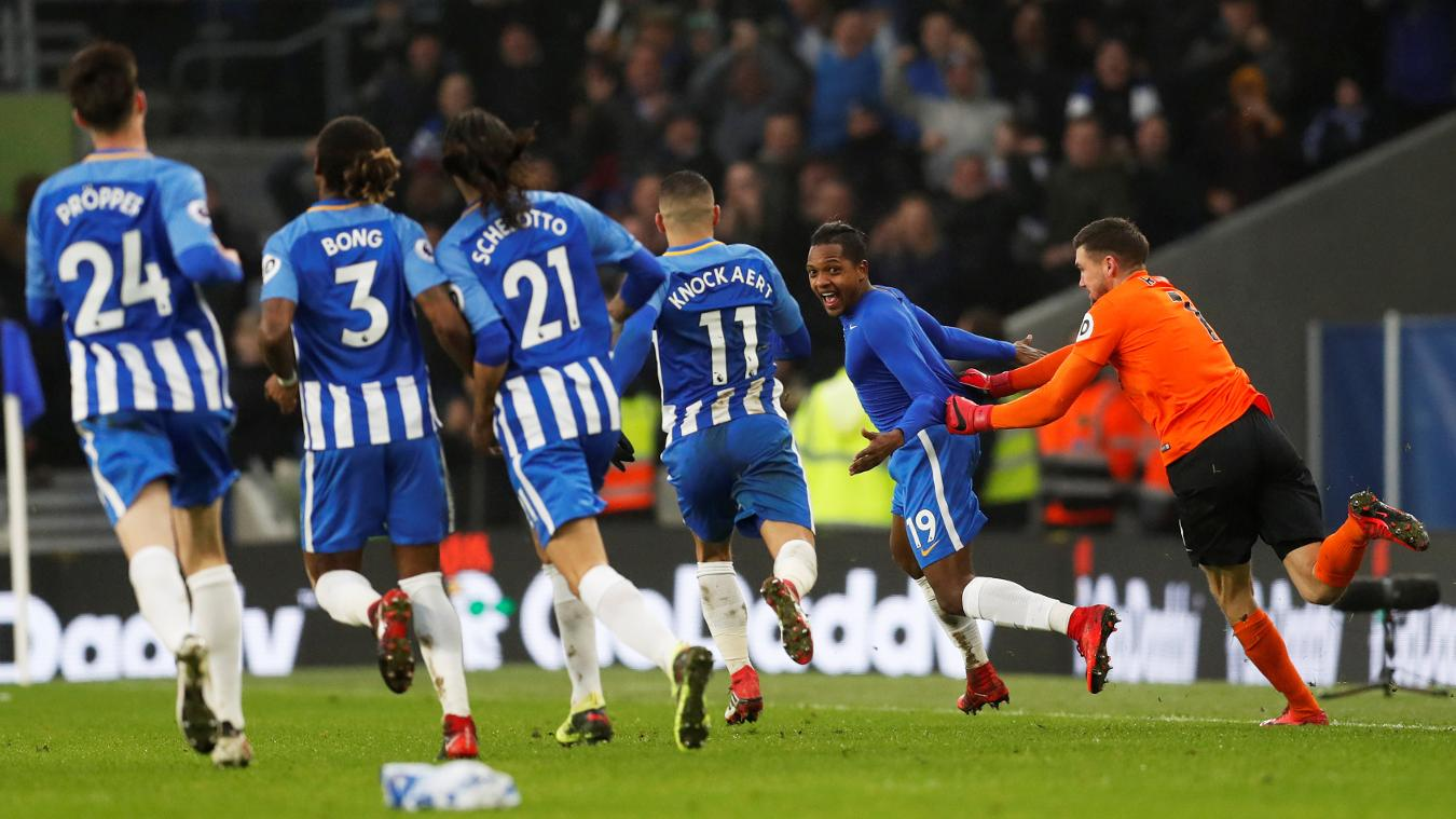 Brighton & Hove Albion 3-1 West Ham United