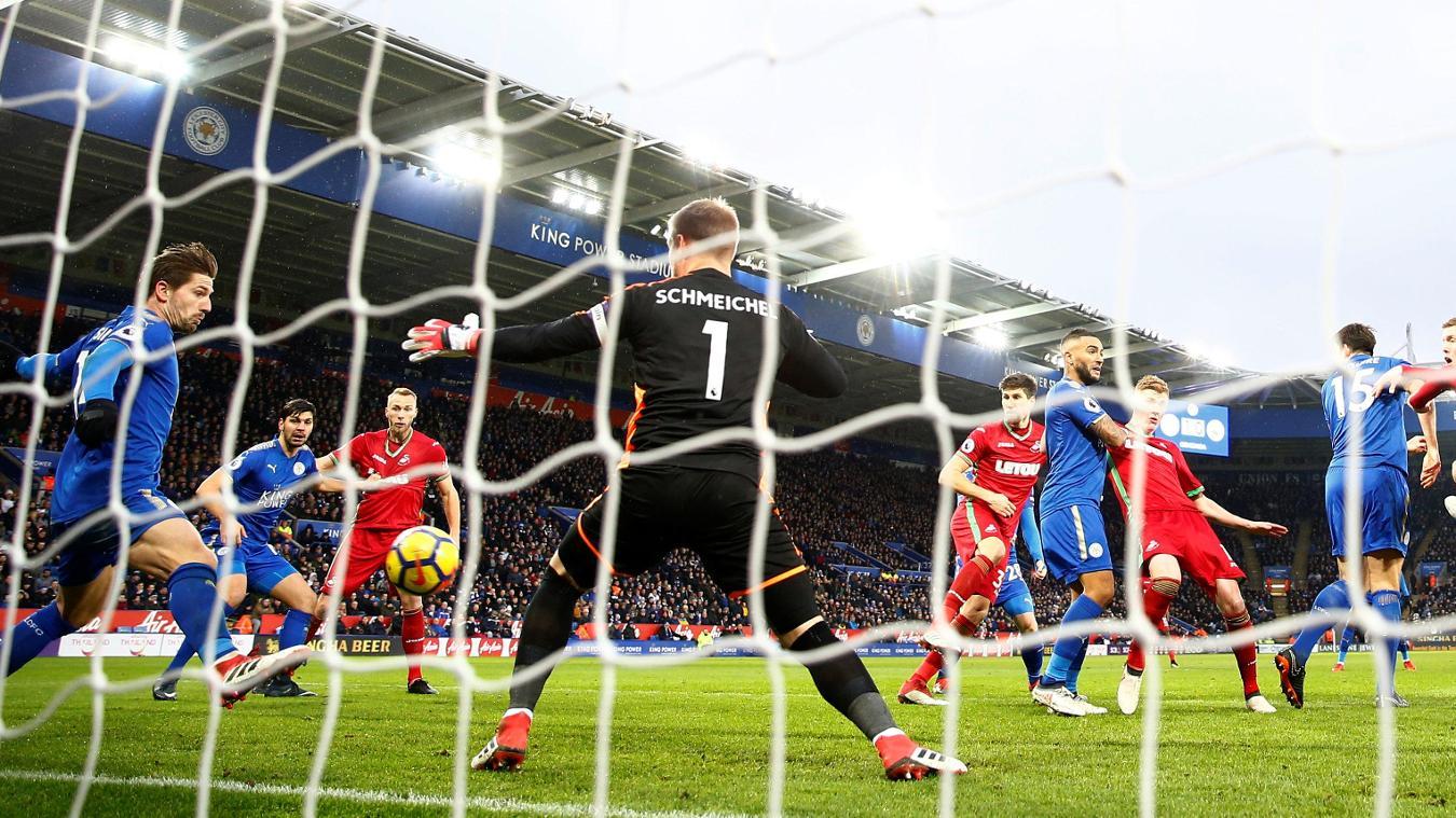 Leicester City 1-1 Swansea City