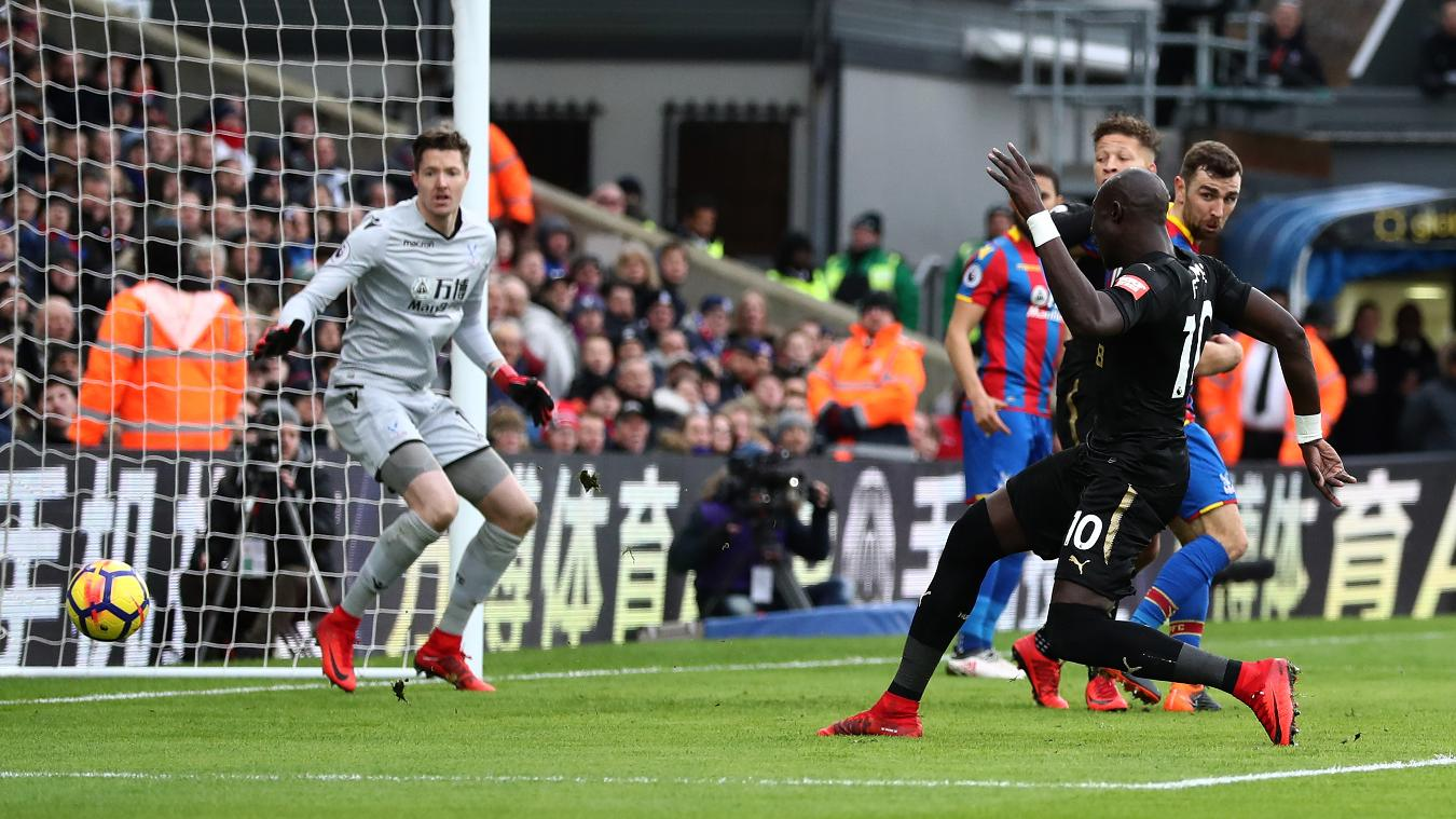 Crystal Palace 1-1 Newcastle Highlights
