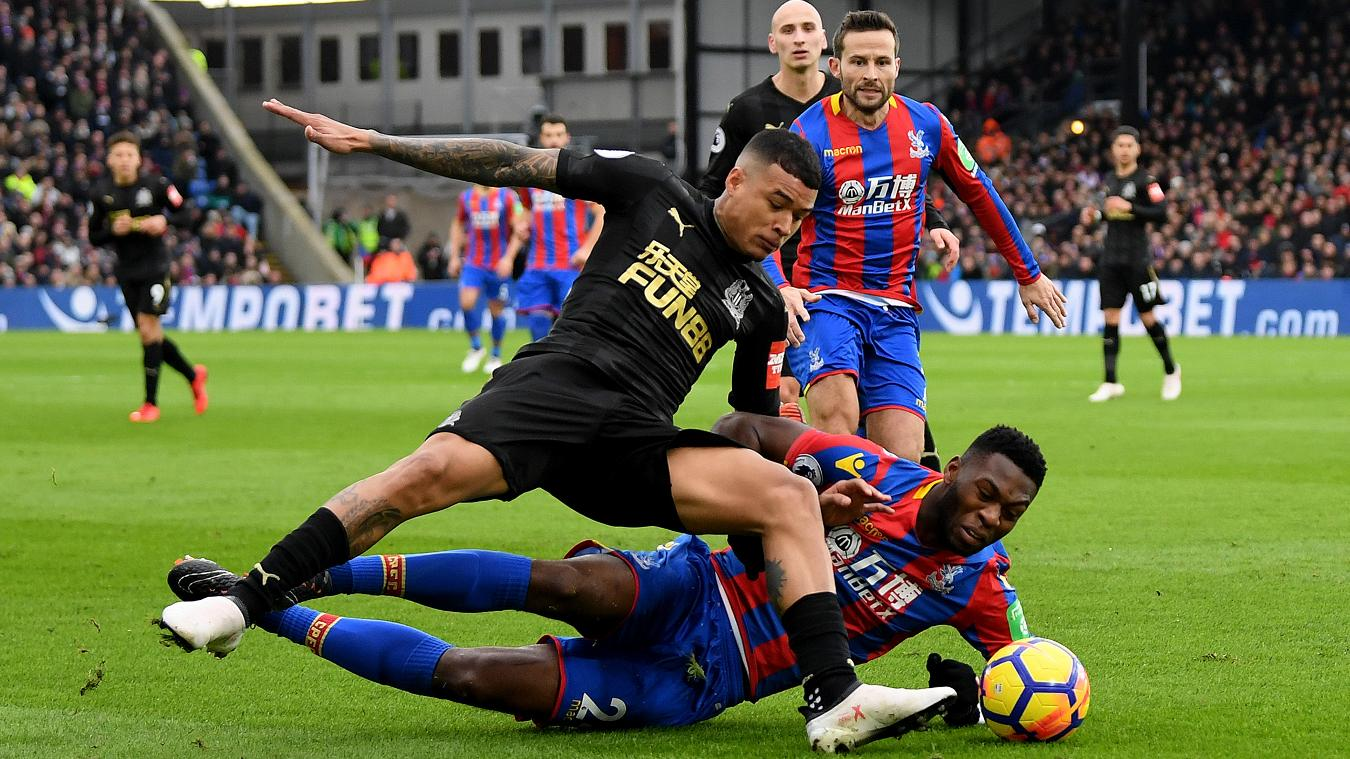 Crystal Palace 1-1 Newcastle United