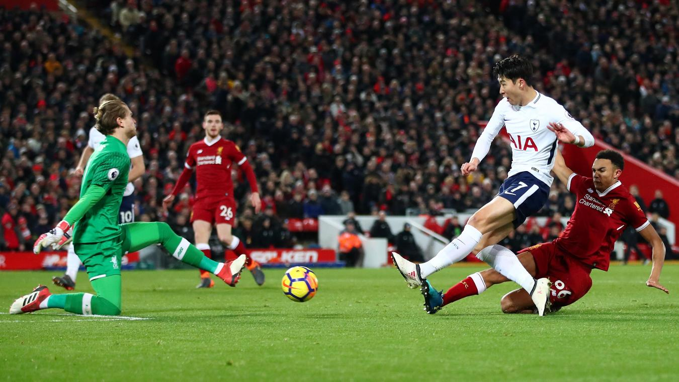 Liverpool 2-2 Tottenham Hotspur Highlights