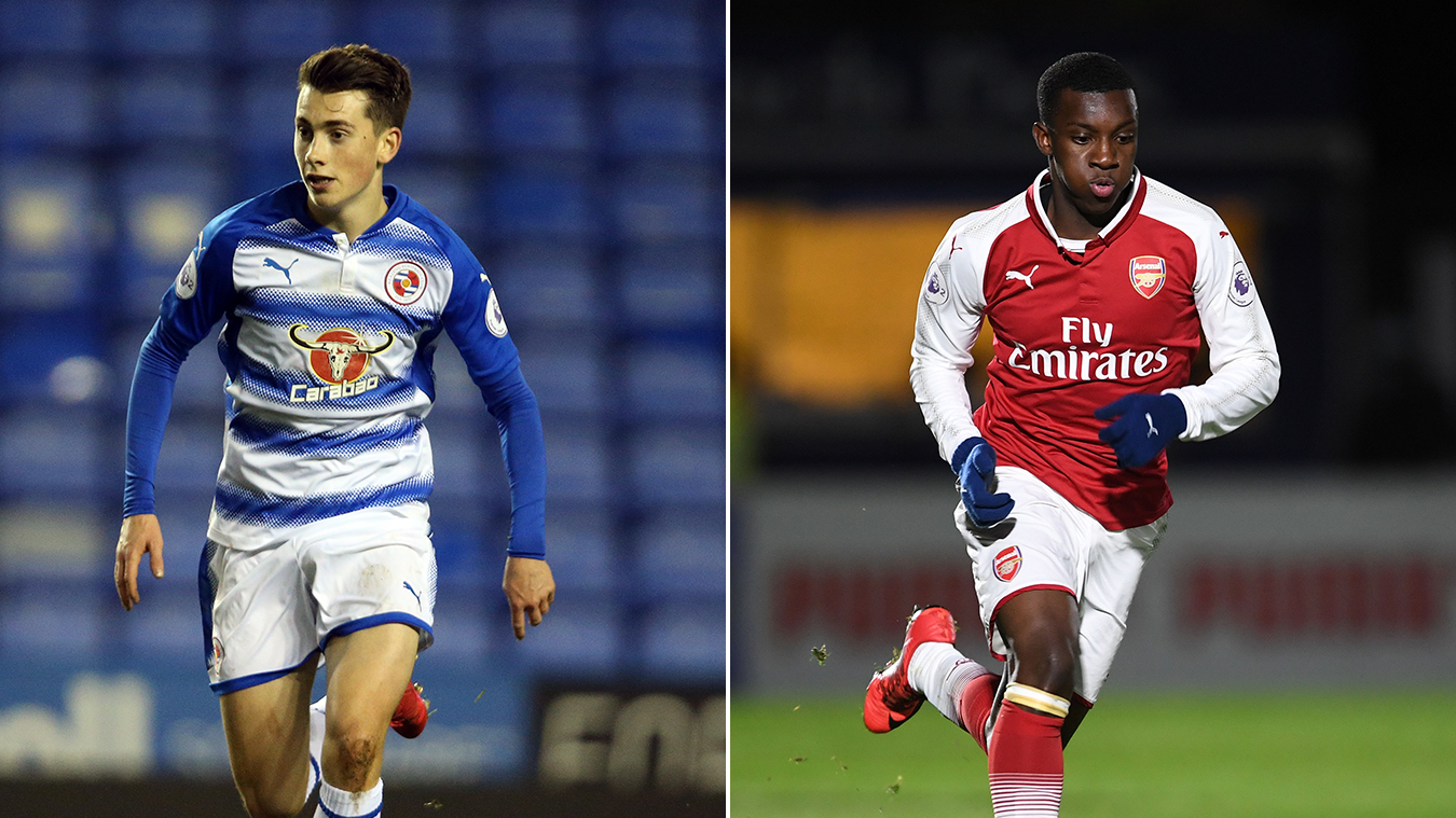 PL2 POTM, Ryan East (Reading), Eddie Nketiah (Arsenal)