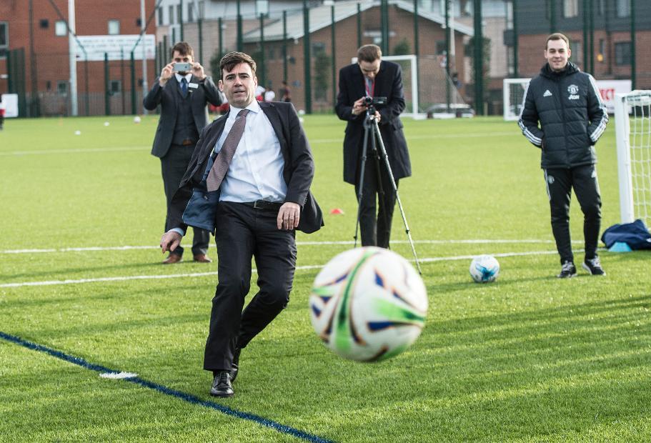 Andy Burnham, PL & The FA Facilities Fund