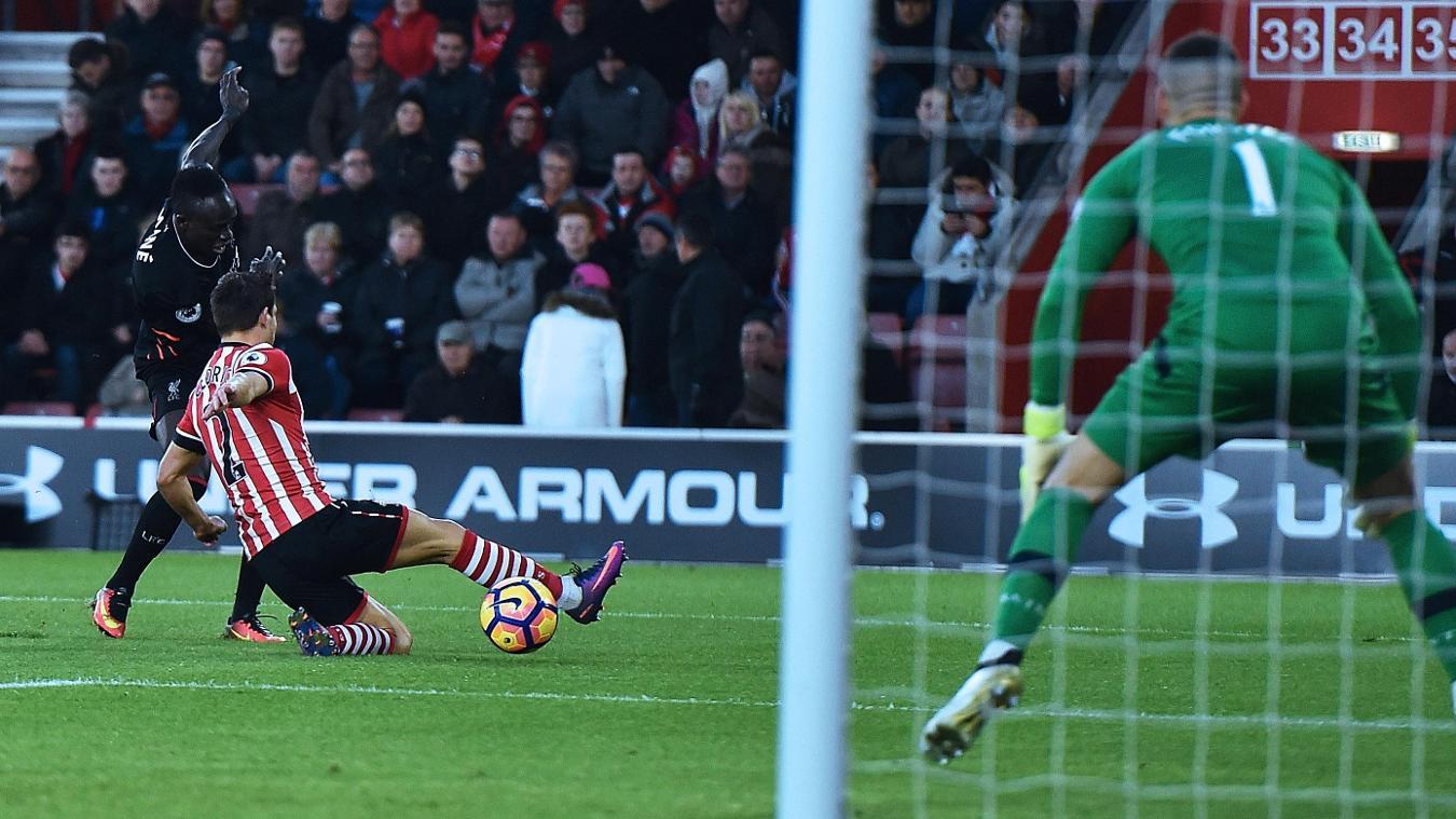 Southampton v Liverpool, 11 February