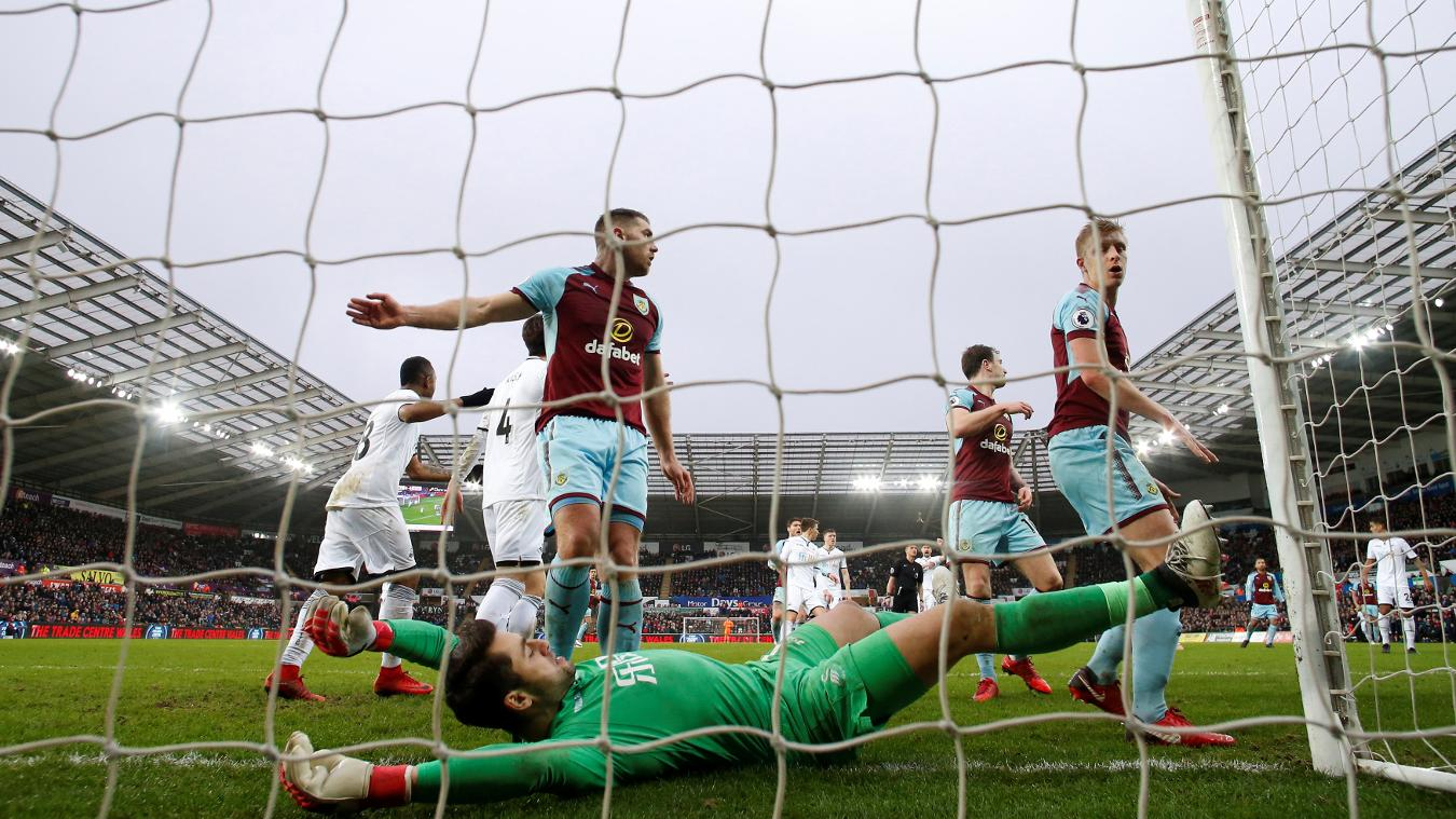 Swansea City 1-0 Burnley