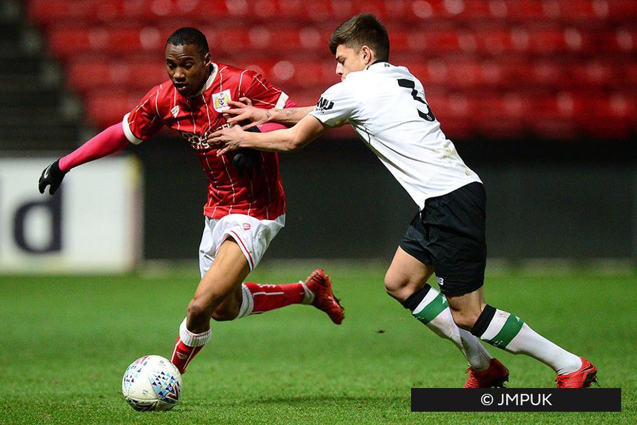 Opi Edwards, Bristol City, Premier League Cup