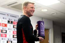 Eddie Howe, Barclays Manager of the Month for January