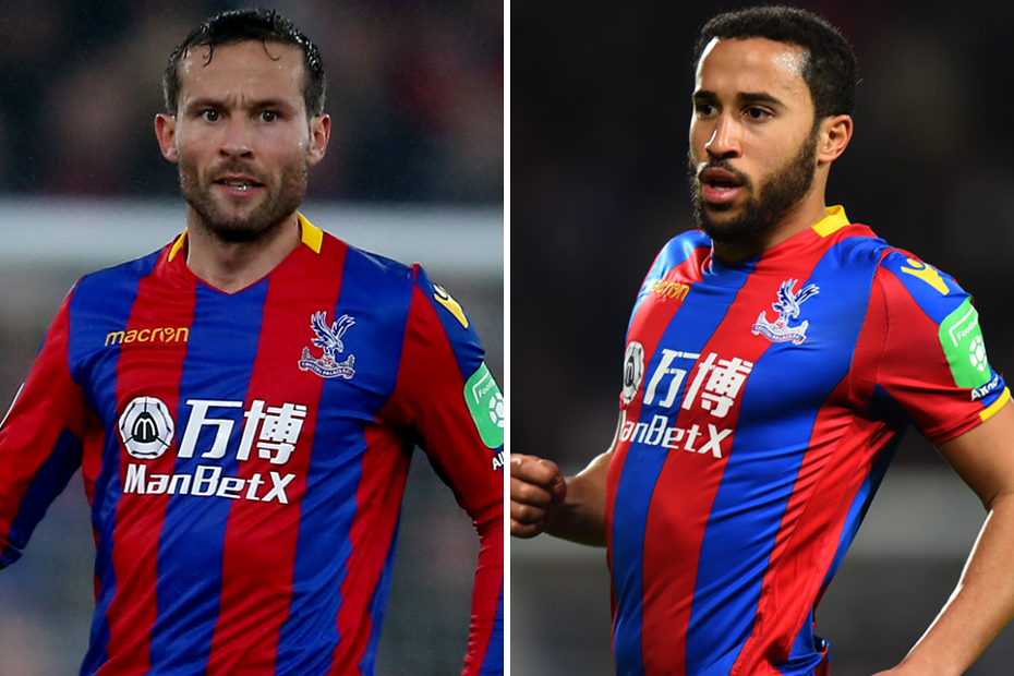 Yohan Cabaye and Andros Townsend, Crystal Palace