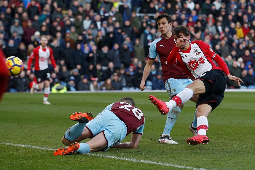 Burnley 1-1 Southampton