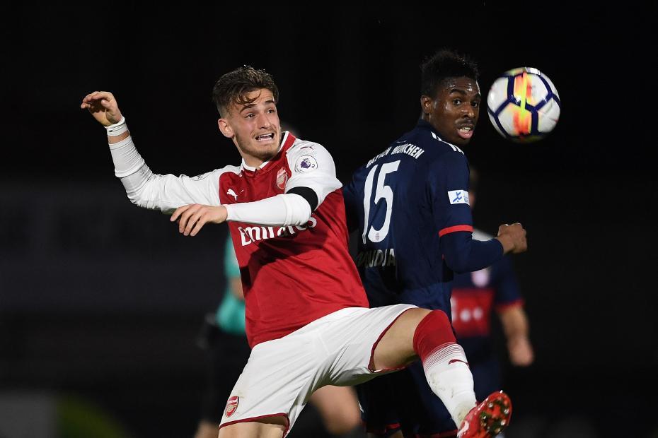 Vlad Dragomir, Arsenal v Bayern Munich, PL International Cup