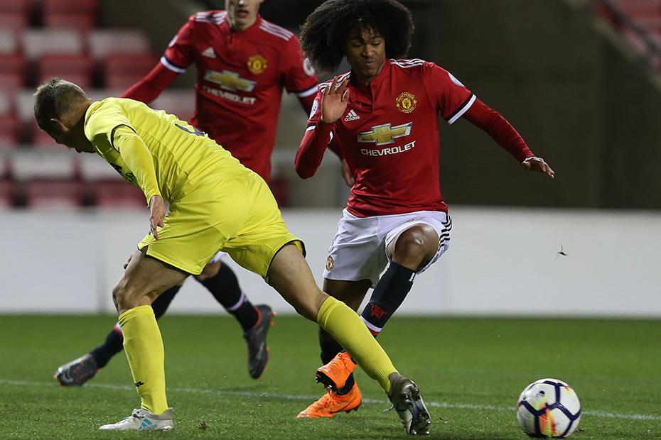 Man Utd v Villarreal, PL International Cup