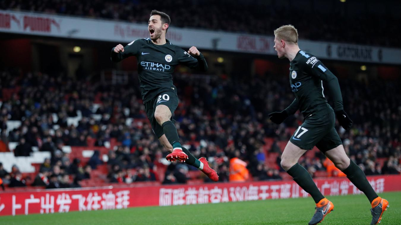 Arsenal vs Manchester City Extended Highlights