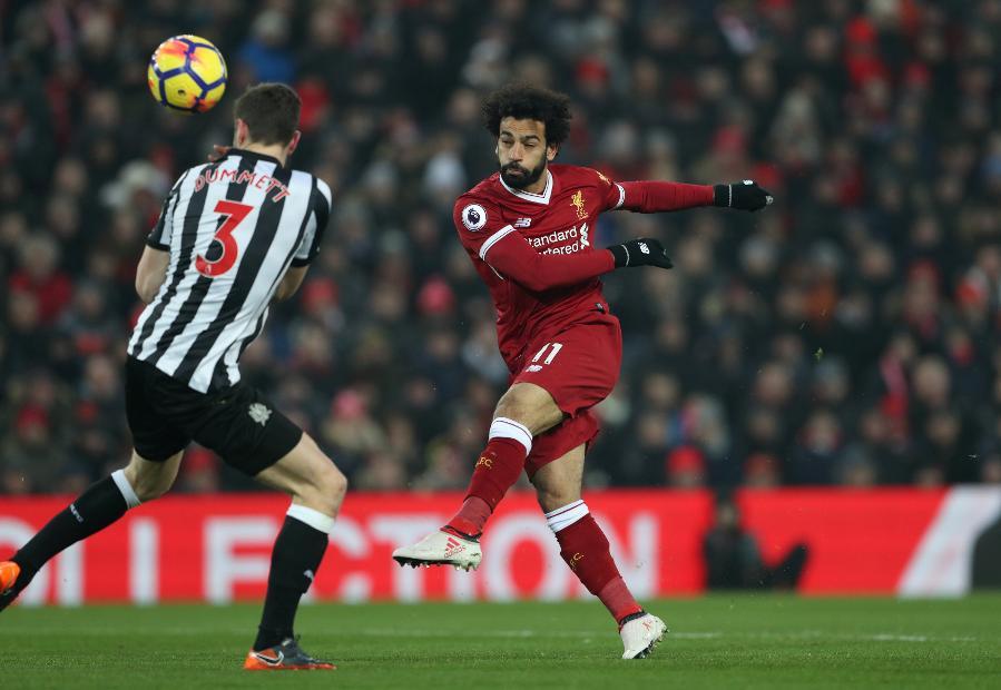 Liverpool v Newcastle United, Mohamed Salah