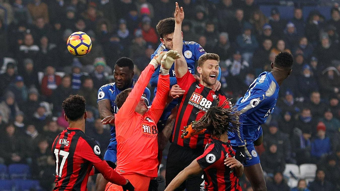 Leicester City 1-1 AFC Bournemouth