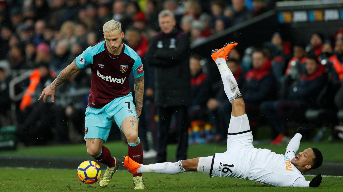 Swansea City 4-1 West Ham United