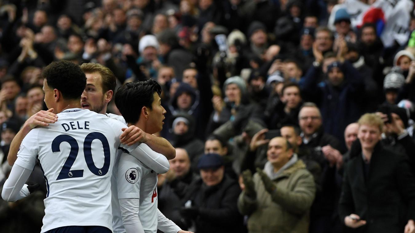Tottenham Hotspur 2-0 Huddersfield Town