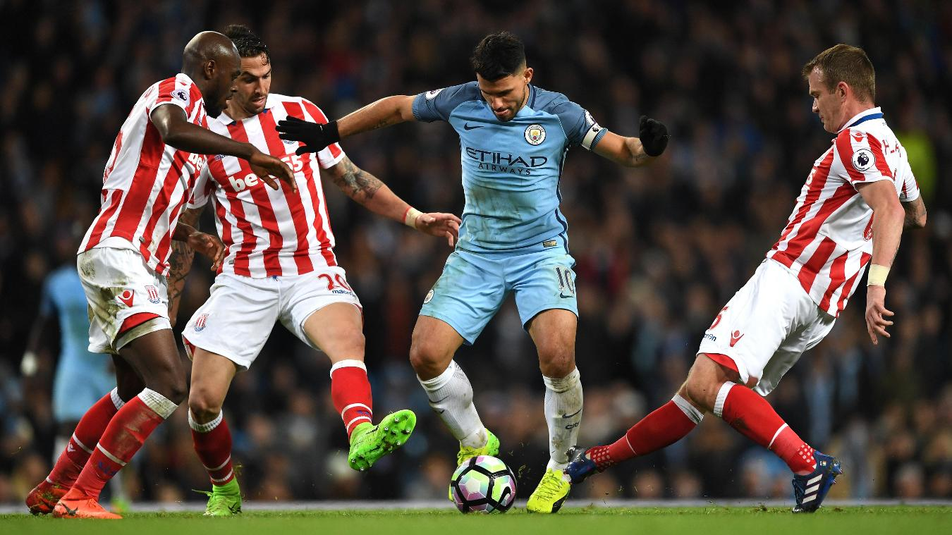 Stoke City v Manchester City, 12 March