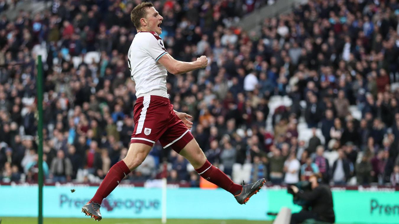West Ham United 0-3 Burnley
