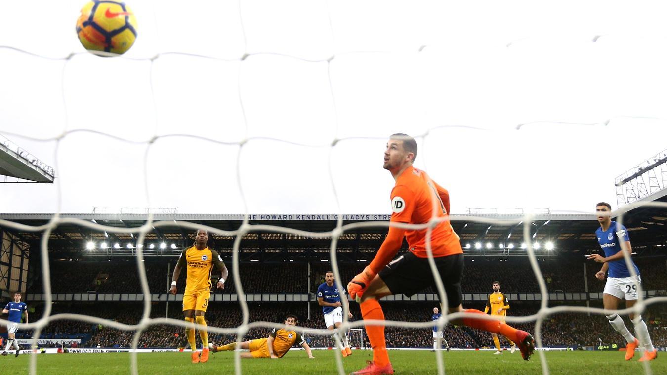 Everton 2-0 Brighton & Hove Albion