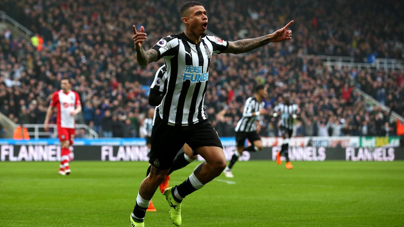 Newcastle United 3-0 Southampton