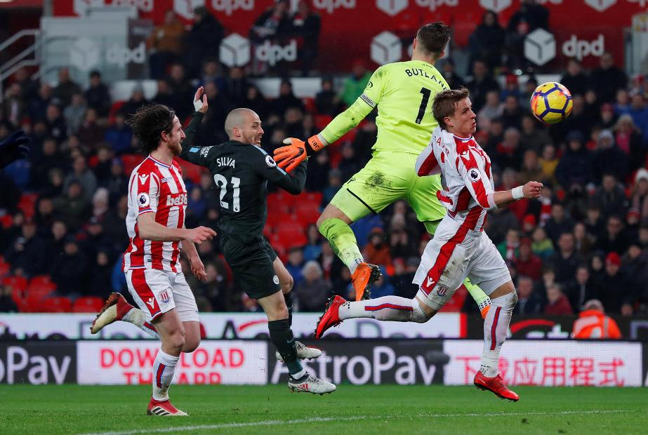 Stoke City v Manchester City