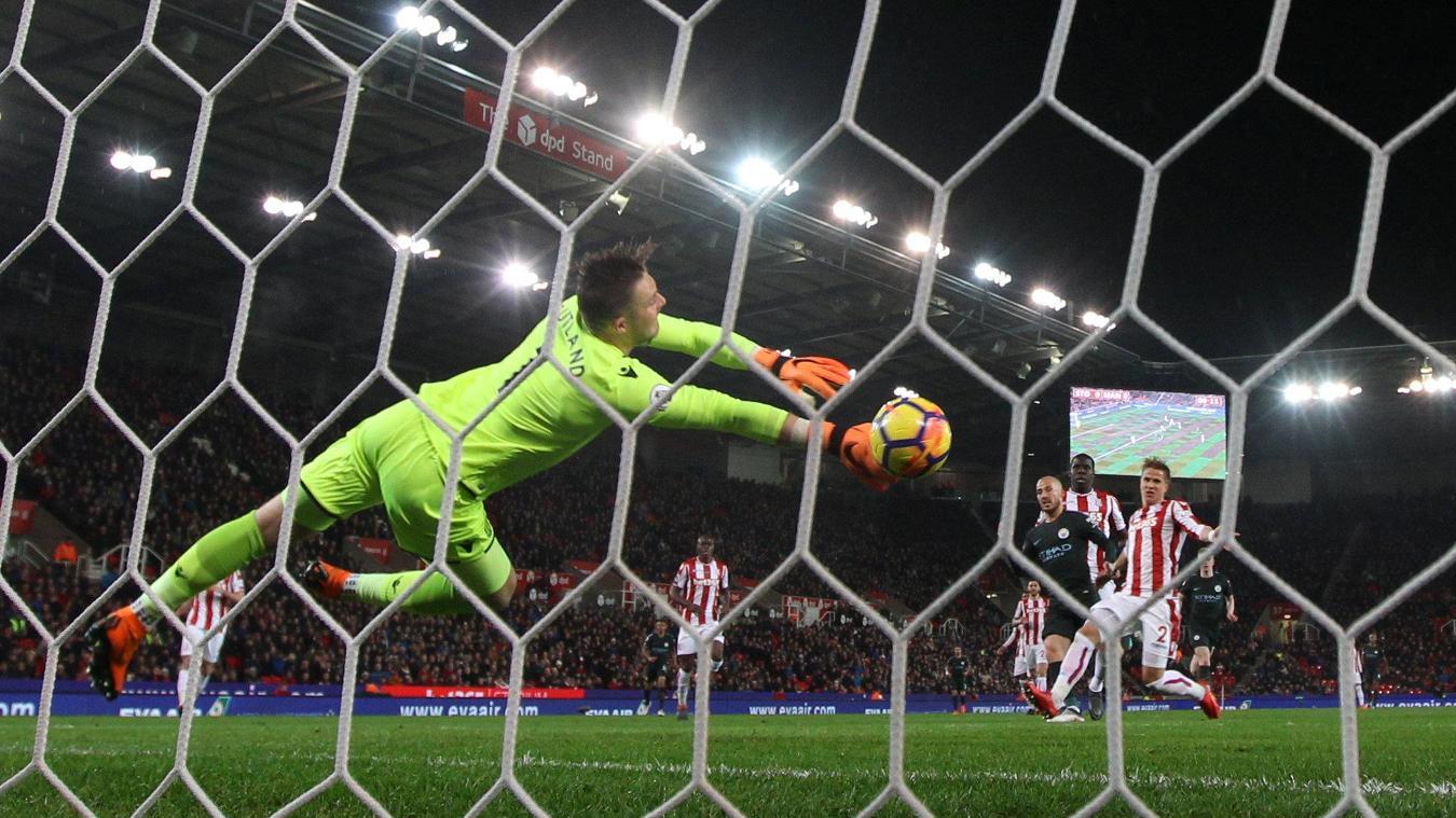 Stoke City 0-2 Manchester City