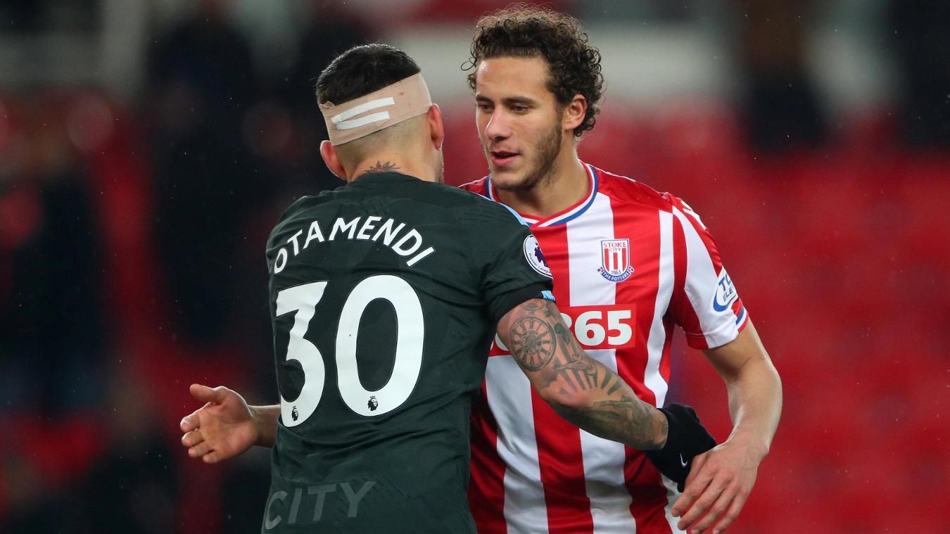 Stoke City vs Manchester City Highlights