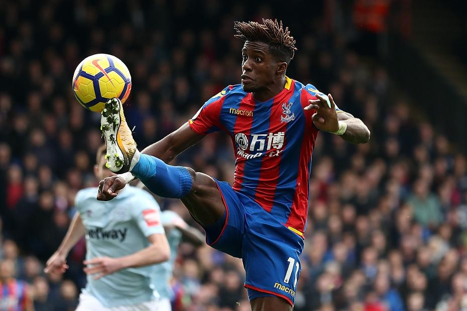 Zaha return gives Palace lift for Huddersfield trip