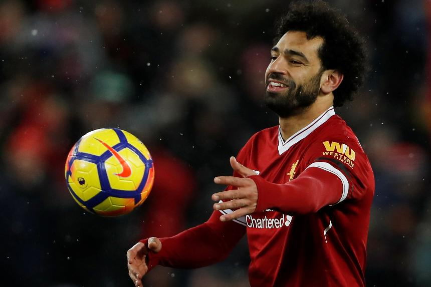 Mohamed Salah's four goal performance against Watford sets series of records