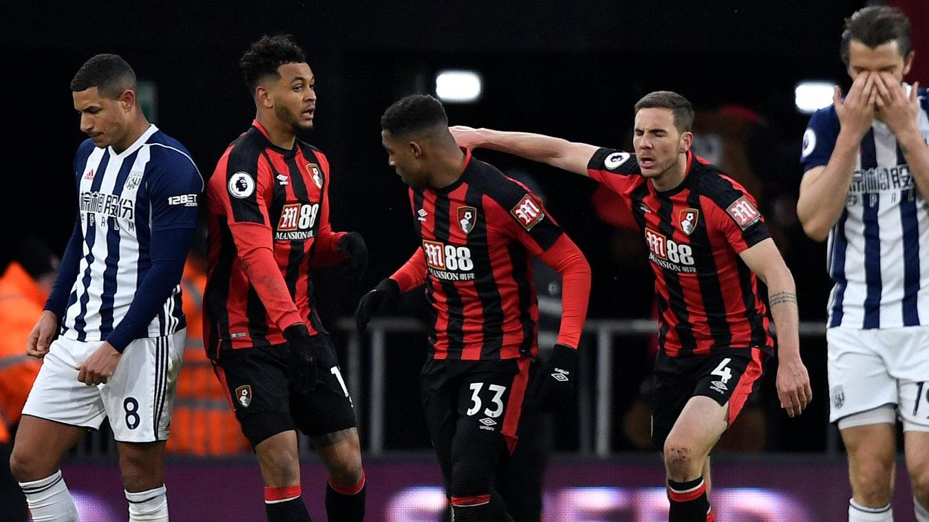 AFC Bournemouth vs West Bromwich Albion 2-1 Highlights