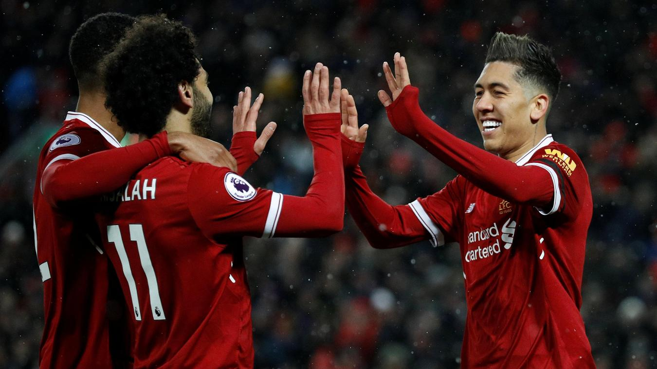 Liverpool vs Watford 5-0 Highlights