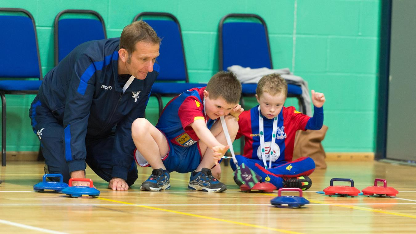 Ruairi took part in last year's Premier League/BT Disability Sport Festival