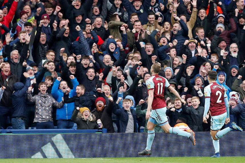 West Bromwich Albion 1-2 Burnley
