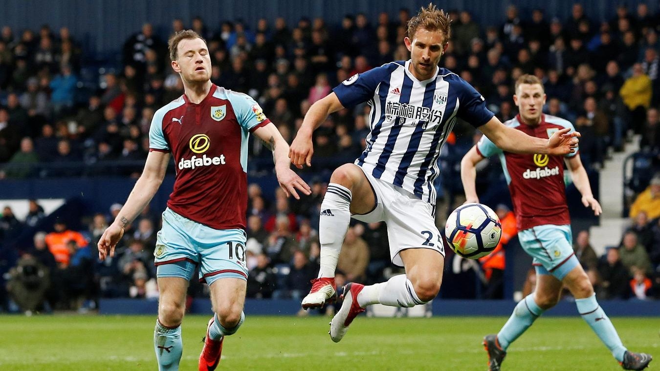 West Bromwich Albion 1-2 Burnley